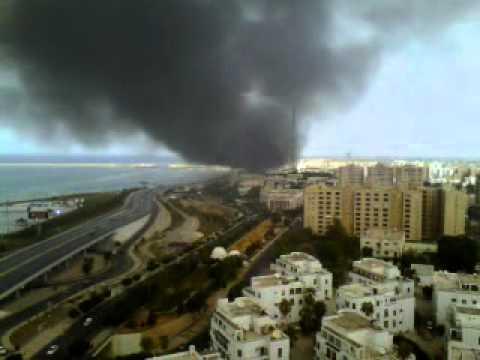 Tripoli in fire 24.09.2011