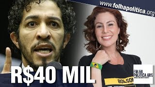 Deputada Carla Zambelli pede ajuda após ser condenada a pagar R$40 mil a Jean Wyllys