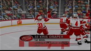 NHL 99 (N64) - Season Mode