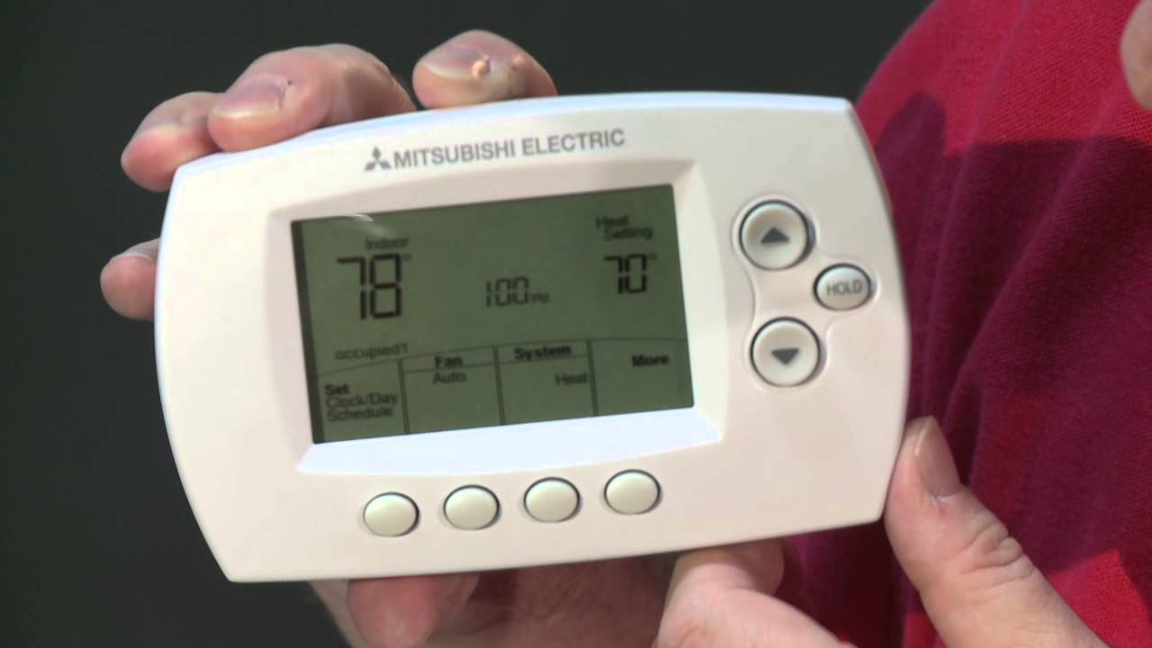 how to install the honeywell mhk1 controller mitsubishi electric rh youtube com Mitsubishi Mr. Slim Thermostat Timer Mr. Slim Mitsubishi MXZ-4B36NA Thermostat