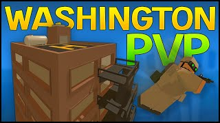 Unturned 3.0 PvP Gameplay - WASHINGTON PVP! - Seattle & Rooftop Sniper!