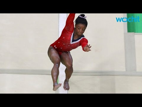 Even When She Slips, Simone Biles is