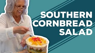 Quarantine Cooking - Southern Cornbread Salad