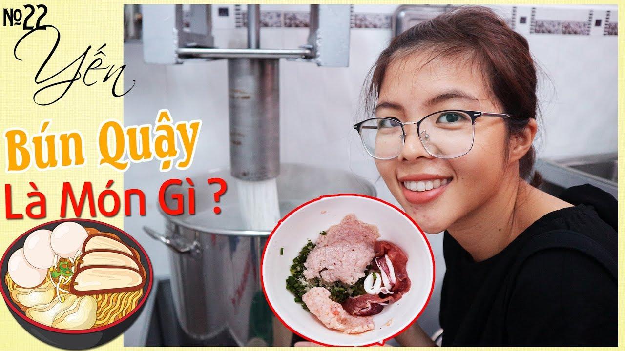 Độc lạ món Bún Quậy Cô Ba tại Sóc Trăng – Wheat noodles stir | YẾN TRẦN TV
