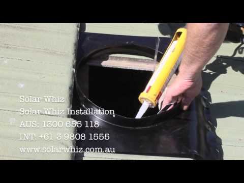 Solar Whiz: Installation Demo on Tile Roof
