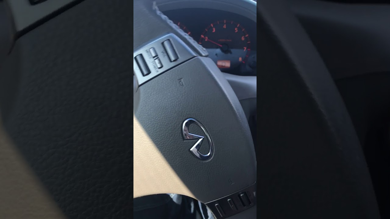 2003 Infiniti G35 single beep coming from dash