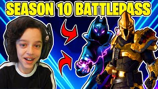 *NEW* SEASON X BATTLEPASS In Fortnite (Favorite Battle Pass??)