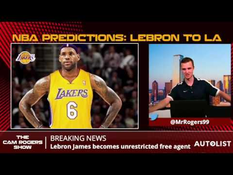 NBA Trade & Free Agency Predictions: Kawhi Leonard, LeBron James, & Paul George