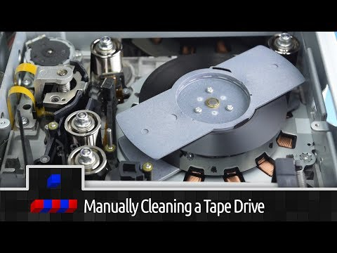 LTO Manual recovery of stuck tape - YouTube