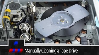 0x002A - Manually Cleaning a DLT Tape Drive