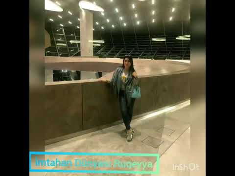 İmtahanin yeni aktrisasi Refiqe klip ❤
