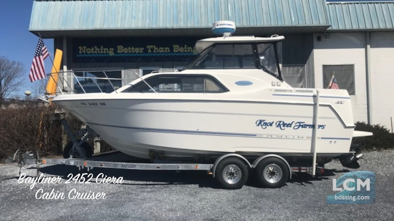 Phoenix Boats For Sale >> Bayliner 2452 Ciera Express Cabin Cruiser Used Boat For Sale