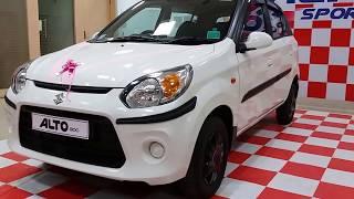 Maruti Suzuki Alto Sports Edition Launched   Exterior,Interior and Boot Space   1080p