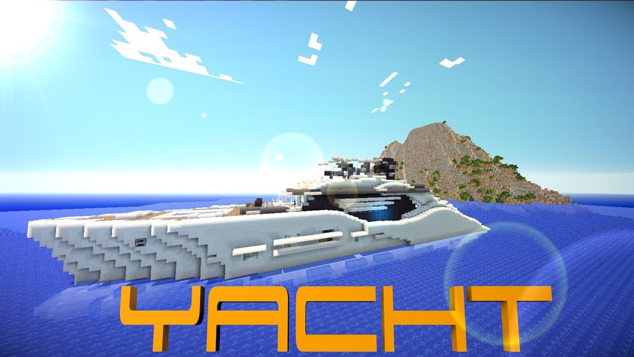 Minecraft Pocket Edition Yacht DOWNLOAD YouTube