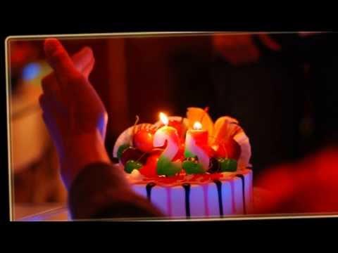 С Днем рождения! Поздравление с 25-летием