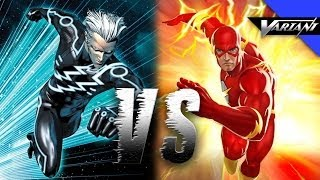 The Flash VS Quicksilver: Epic Battle!