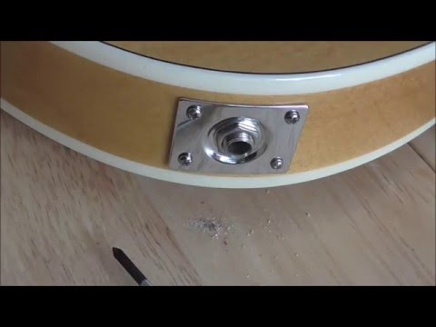 How To Fix A Loose Guitar Jack Input Socket Youtube