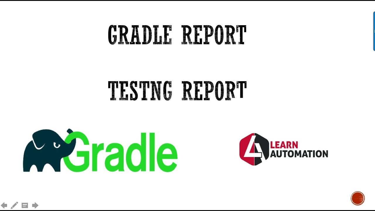 Gradle Tutorial 3-How To Generate Gradle Report and TestNG Report