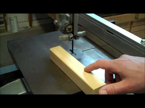 Adjusting your band saw for blade drift