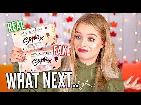 FAKE VS REAL- MY OWN PALETTES HAVE FAKES ON WISH?! I ORDERED ONE.. WHAT NEXT 馃槀| sophdoesnails