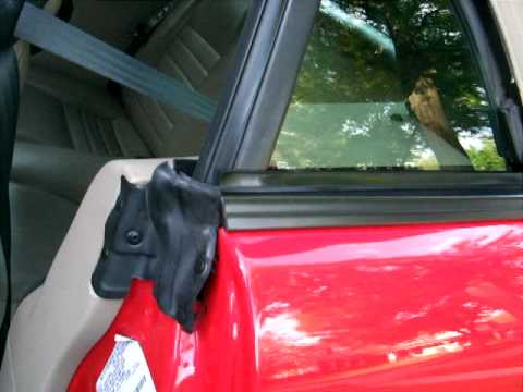 Ford Mustang 2003 Problem With Rear Window Youtube