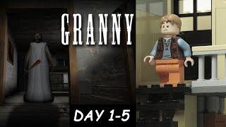 Lego Granny Лего Грэнни day#1-5