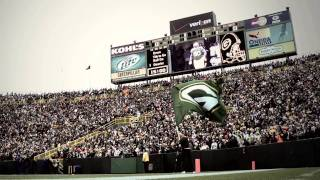 Kris Allen at Lambeau Field