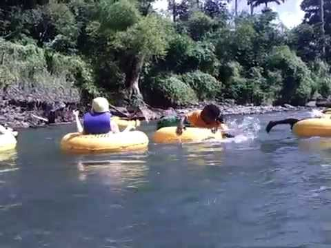 Roseau Dominica Tubing Adventure