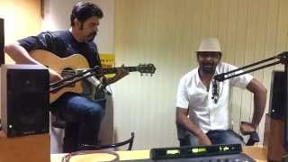Agnee live and unplugged at the Radio Mirchi Studios.