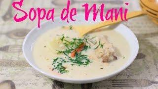receta de mama sopa de mani