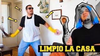 Parodia de Tumba La Casa (Remix) - LIMPIO LA CASA (FRANDA) 2016 HD