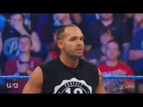 Tye Dillinger debut entrance on Smackdown Live