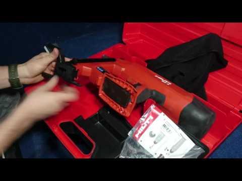 Распаковка минимальной комплектации монтажного пистолета BX3  от Hilti