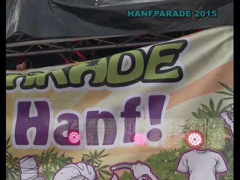 BERLIN: Hanfparade 2015 am 8.8.2015