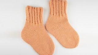 Прочные носки крючком 1 часть - Durable socks crochet