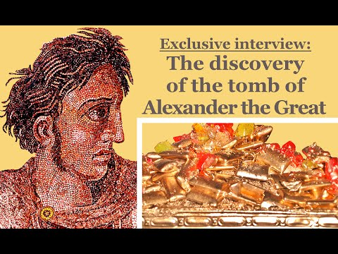 Exclusive interview with the discoverer of the tomb of Alexander the Great