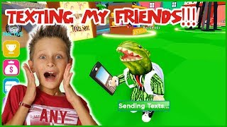 Texting My Friends in Texting Simulator!