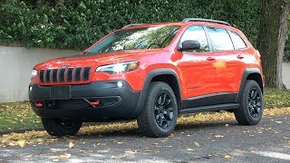 2019 Jeep Cherokee Trailhawk Review--Lot's of choices