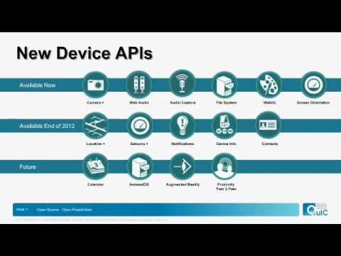Webinar: HTML5 Device APIs & Tools for Mobile Web App Development
