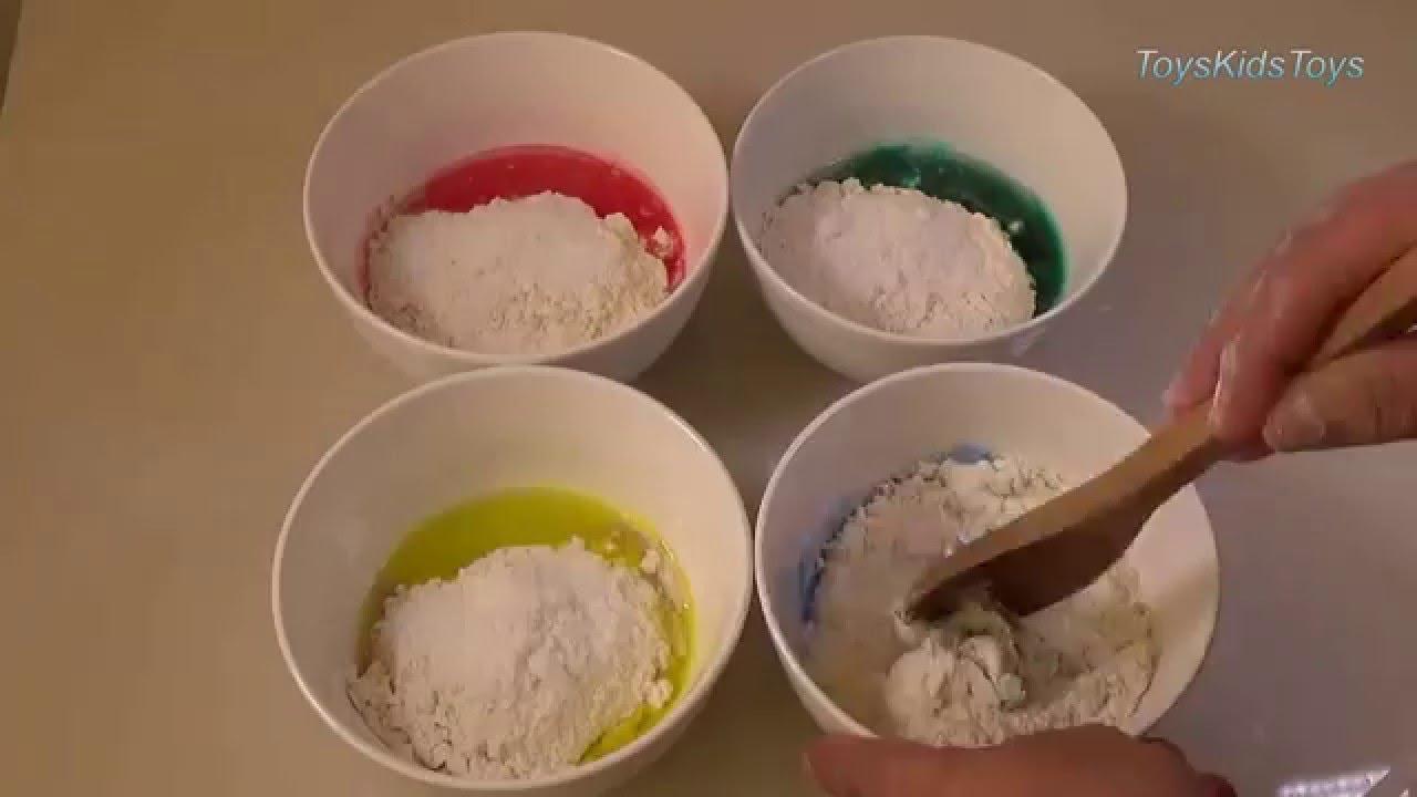 Como hacer plastilina play doh fac l funkeep youtube - Como hacer plastico liquido ...