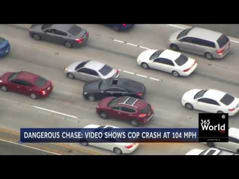 High Speed Police Chases Under Crash In Florida U.S.A | 365 World News
