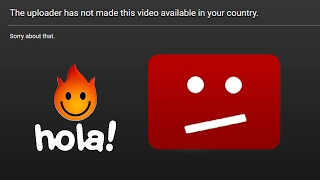 Fix Youtube Video Not Available In Your Country Via Hola Extension