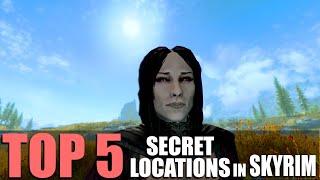 Top 5 SECRET Locaтions in Skyrim!