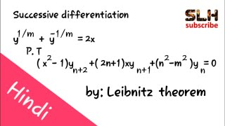 Leibnitz Theorem Of Nth Order Derivative, Successive Differentiation In Hindi 1st Year Maths