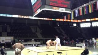 Чемпионат Европы по сумо 2015 (Sokolovskiy)