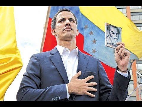 《今日点击》委内瑞拉变天-民众上街推翻独裁 美英加10国承认临时政府