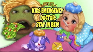 Pear FORCED to Play - Kids Emergency Doctor: STAY IN BED!