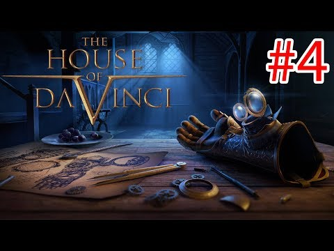 The House Of Da Vinci - Walkthrough Gameplay ( iOS / Android / STEAM )- PART 4