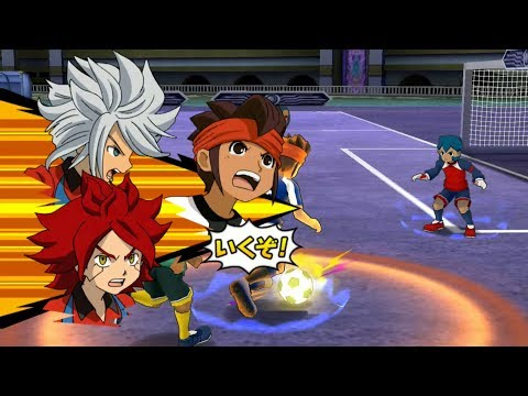 Inazuma Eleven Go Strikers 2013 Inazuma Legend Japan Vs Little Gigant Wii 1080p (Dolphin/Gameplay)