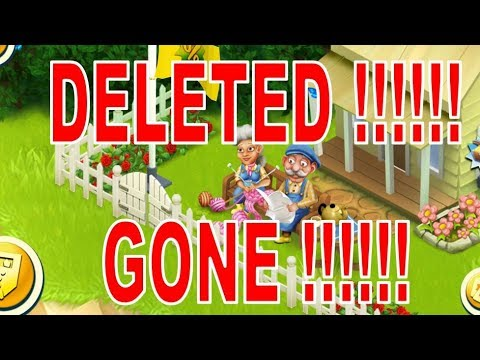 Hayday Deleted! How To Get Your Farm Back.